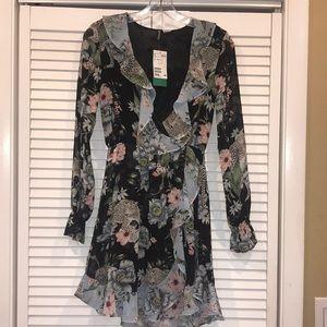 H&M Divided Wrap Dress Size Size 4